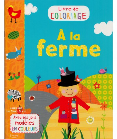 Livre de coloriage : À la ferme - Editions Kimane