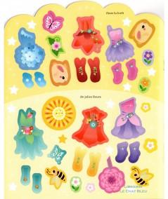 J'habille les fées - Livre d'activités avec plus de 150 stickers - Editions de L'imprévu