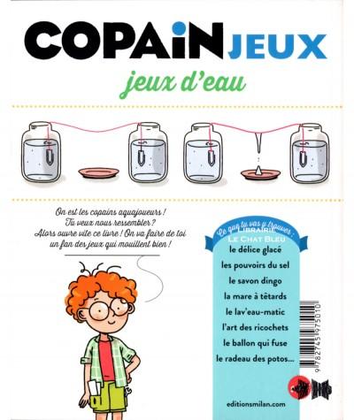 Copain Jeux : Jeux d'eau (Myriam et Nicolas Martelle, Marie Spénale) - Editions Milan Jeunesse