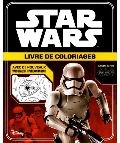 STAR WARS (Walt Disney) : Livre de coloriages - Hachette Jeunesse