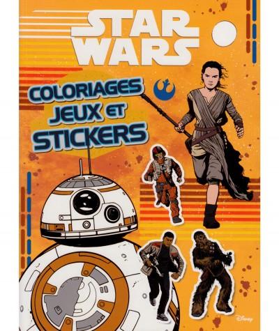 STAR WARS (Walt Disney) : Coloriages, jeux et stickers - Hachette Jeunesse