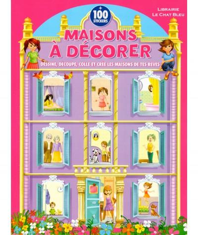 Châteaux à décorer + 100 stickers - Editions LLC