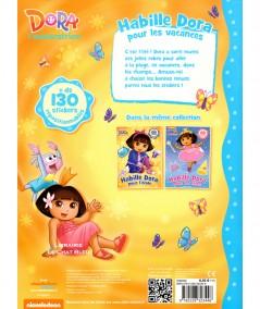 Dora l'exploratrice : Habille Dora pour les vacances - Editions Albin Michel
