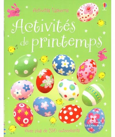 Activités de printemps (Fiona Watt) - Avec plus de 250 autocollants - Editions USBORNE
