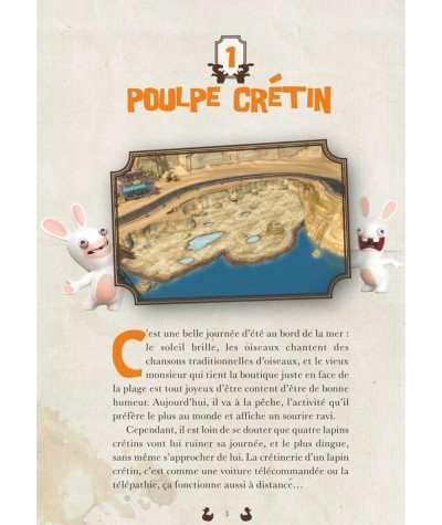 The lapins crétins : Les extraordinaires stories T1 (page 3) - Editions Glénat