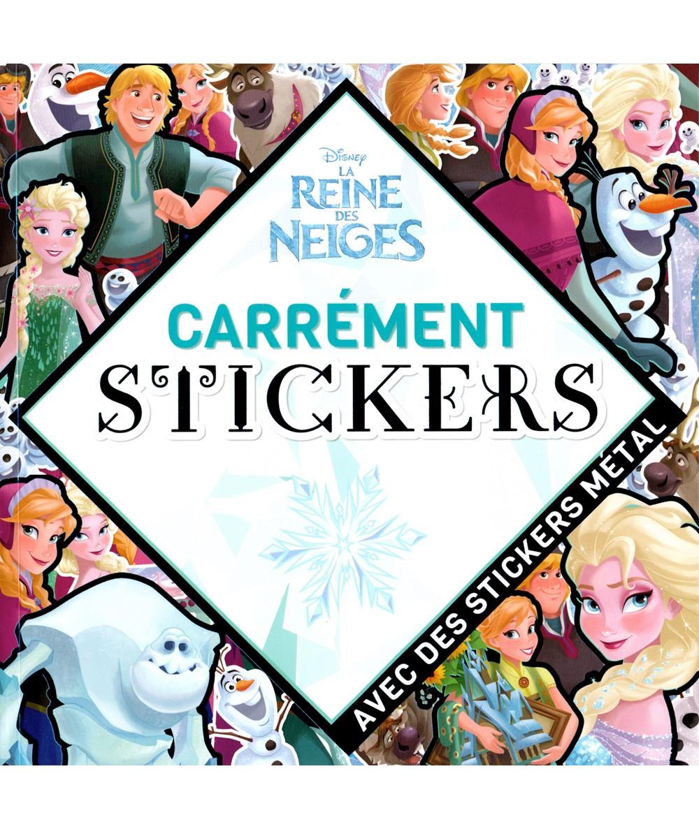 La Reine des Neiges (Walt Disney) : Carrément stickers - Hachette Jeunesse