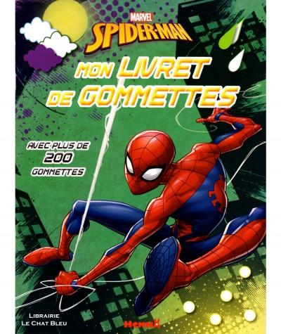 Marvel Spider-Man : Mon livret de gommettes - Editions Hemma