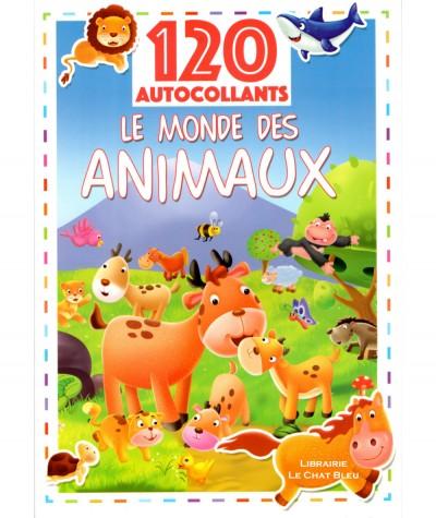 Le monde des animaux - 120 autocollants - Livre d'activités LLC