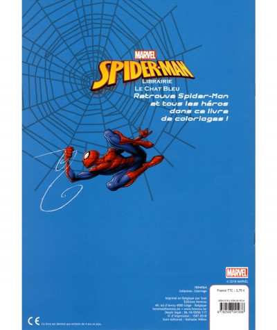 Marvel Spider-Man - Fun color - Editions Hemma