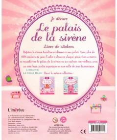 Je décore le palais de la sirène : Livre de stickers - Editions de L'imprévu