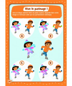 Dora l'exploratrice : Vive l'hiver (page 20) - Albin Michel Jeunesse