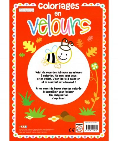Coloriages en velours - Livre d'activités LLC