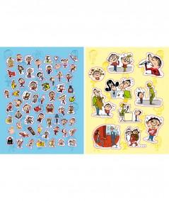 Les stickers de TOTO (Serge Bloch) : Plus de 885 autocollants ! - Editions Tourbillon