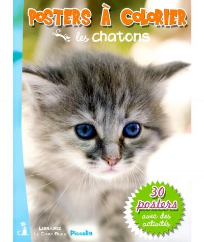 Posters à colorier : Les chatons - Editions Piccolia