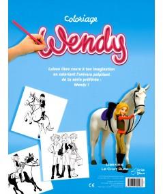 Coloriage Wendy : 64 scènes de ta série préférée à colorier - Editions Cerise Bleue