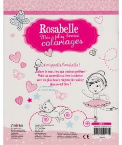 Rosabelle : Mes plus beaux coloriages - Plus de 20 jolies images à colorier !