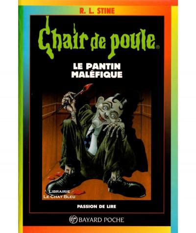 Chair de poule T14 : Le pantin maléfique (R.L. Stine) - Bayard jeunesse