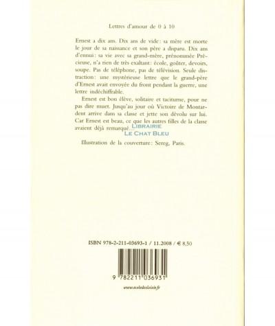 Lettres d'amour de 0 à10 (Susie Morgenstern) - Collection Neuf - L'école des loisirs