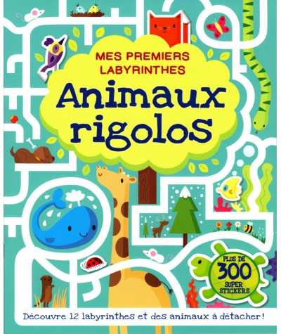 Mes premiers labyrinthes : Animaux rigolos - Editions Kimane