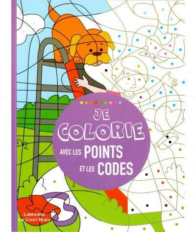 Livre d'activités : Je colorie avec les points et les codes - Editions LLC