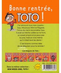 TOTO T1 : Bonne rentrée ! (Serge Bloch, Marie-Agnès Gaudrat)