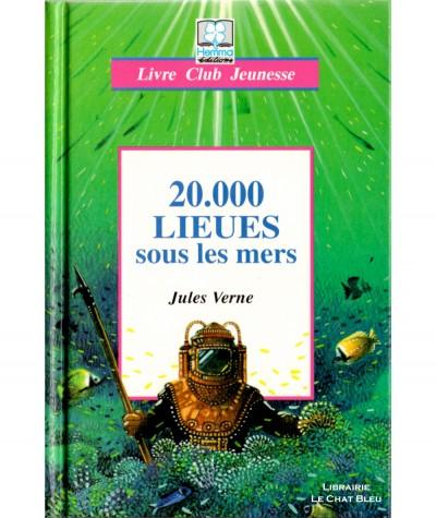 20.000 Lieues sous les mers (Jules Verne) - Livre Club Jeunesse - Editions Hemma