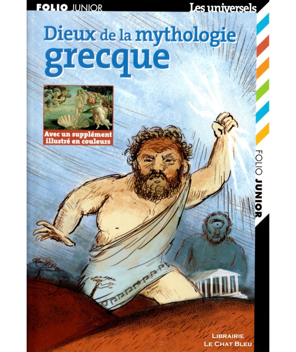 Dieux de la mythologie grecque (Marie-Thérèse Adam) - Folio Junior N° 1450 - Gallimard
