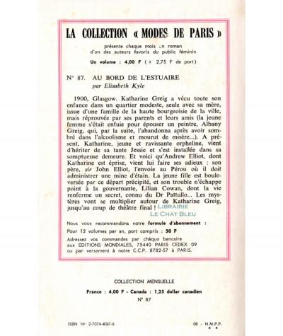 Au bord de l'estuaire (Elisabeth Kyle) - Modes de Paris N° 87 - Les Editions Mondiales