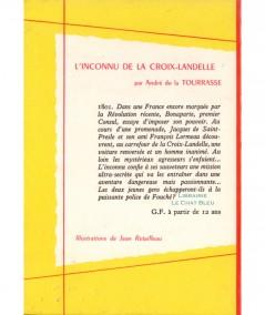 L'inconnu de la Croix-Landelle (André de la Tourrasse) - Collection Spirale N° 448