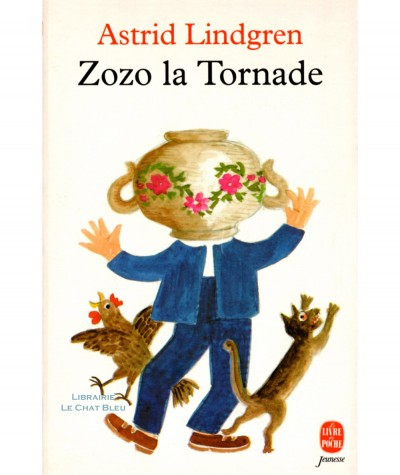 Zozo la Tornade (Astrid Lindgren) - Le Livre de Poche N° 13