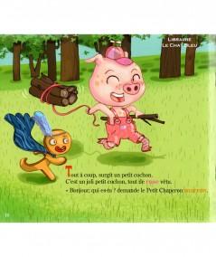 Le Petit Chaperon caméléon (Brigitte Tranier) - Page 16 - Editions Lire C'est Partir
