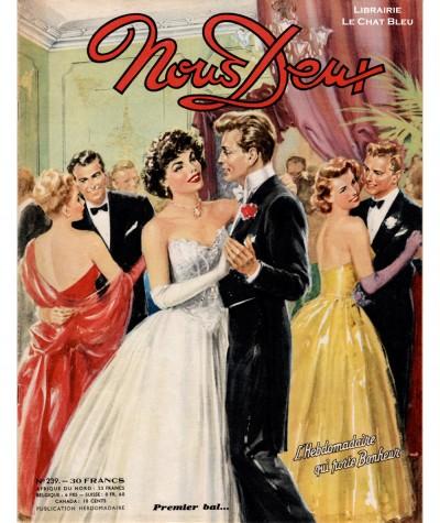 Revue Nous Deux n° 239 paru en 1951 : Premier bal…