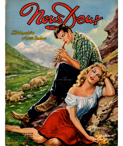 Magazine Nous Deux n° 253 - Année 1952 : Rêveries…