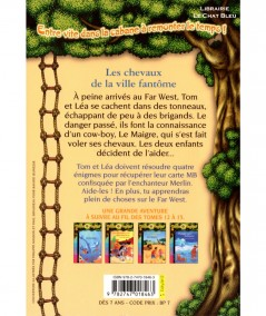 La Cabane Magique T13 : Les chevaux de la ville fantôme (Mary Pope Osborne) - Bayard Jeunesse