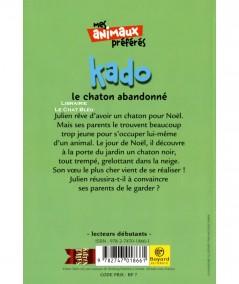 100 % Animaux : Kado, le chaton abandonné (Jenny Dale) - Bayard Poche N° 605