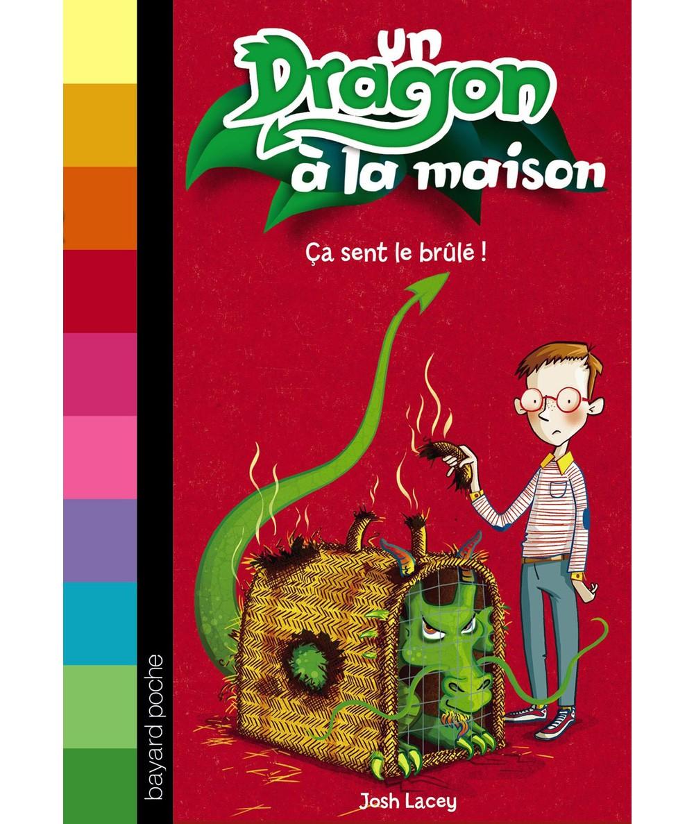 Un Dragon à la maison T1 : Ça sent le brûlé ! (Josh Lacey) - Bayard Jeunesse