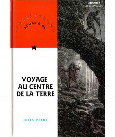 Voyage au centre de la Terre (Jules Verne) - Bibliothèque Rouge & Or N° 43