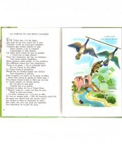 Fables choisies (La Fontaine) : La Tortue et les deux Canards - Editions BIAS Paris