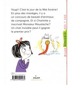 Charlotte et son chat invisible T6 : Vive la fête foraine ! (Pip Jones) - MILAN Jeunesse