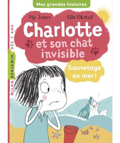 Charlotte et son chat invisible T5 : Sauvetage en mer ! - MILAN Jeunesse