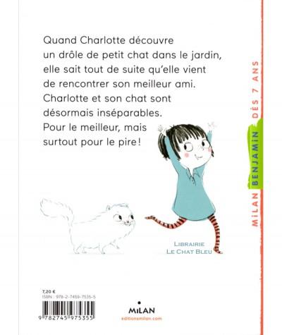 Charlotte et son chat invisible T1 : Bêtises en série ! - MILAN Jeunesse