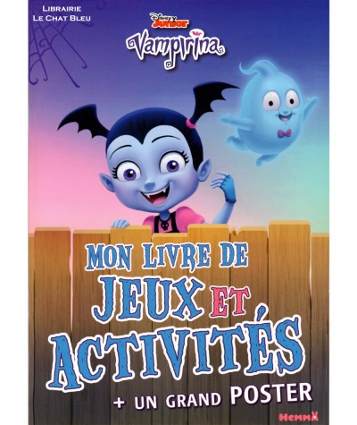 Vampirina (Disney) : Mon livre de jeux et activités + Un grand poster - Editions Hemma