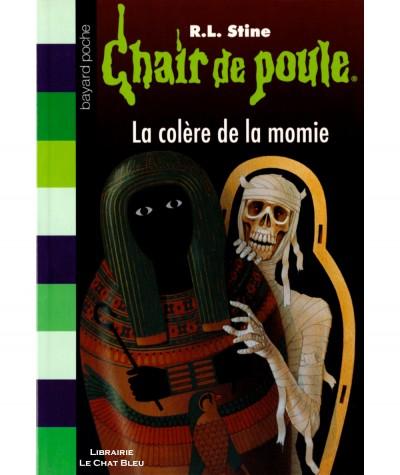 Chair de poule T22 : La colère de la momie (R.L. Stine) - Bayard Jeunesse