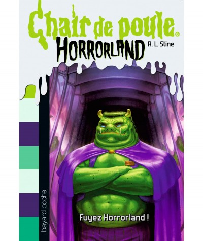 HORRORLAND T11 - Chair de poule : Fuyez Horrorland ! (R.L. Stine) - BAYARD Jeunesse