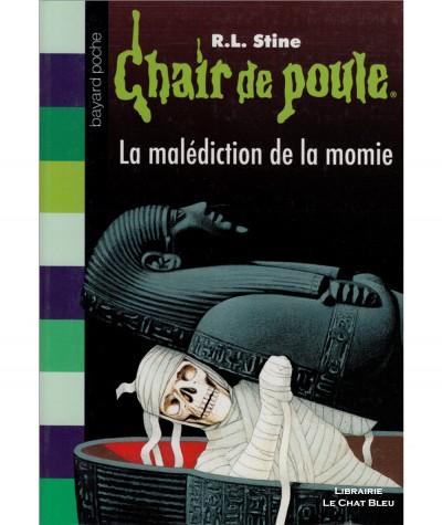 Chair de poule T1 : La malédiction de la momie (R.L. Stine) - BAYARD Jeunesse