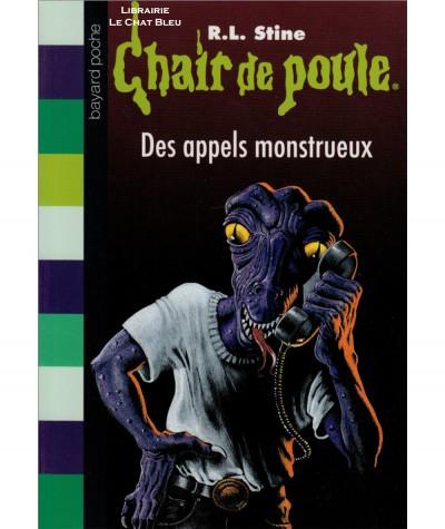 Chair de poule T38 : Des appels monstrueux (R.L. Stine) - BAYARD Jeunesse