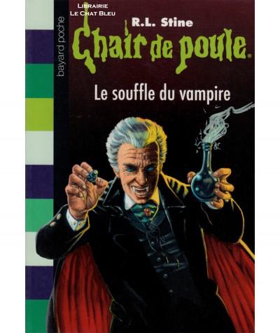 Chair de poule T39 : Le souffle du vampire (R.L. Stine) - Bayard Jeunesse