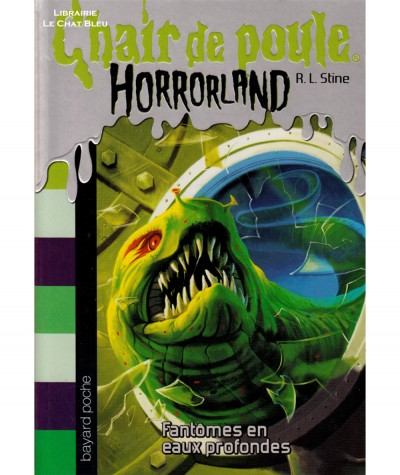 HORRORLAND T2 - Chair de poule : Fantômes en eaux profondes (R.L. Stine) - BAYARD Jeunesse