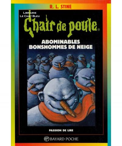 Chair de poule T44 : Abominables bonshommes de neige (R.L. Stine) - Bayard Jeunesse