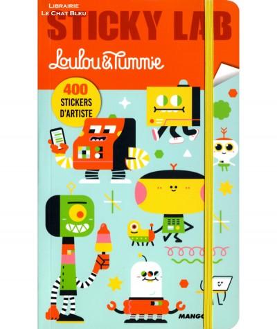 Sticky Lab : Loulou & Tummie - 400 stickers d'artiste - MANGO Jeunesse